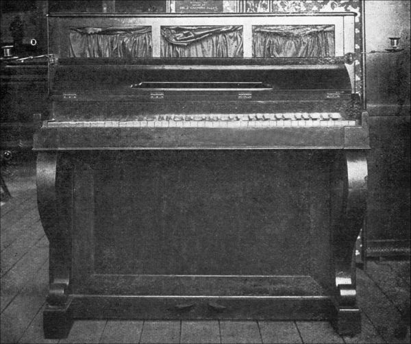 The project gutenberg ebook of the old furniture book by n hudson figure 93 upright piano fandeluxe Images
