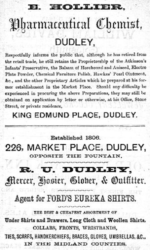 The project gutenberg ebook of the curiosities of dudley and the adverts for e hollier chemist r u dudley mercer fandeluxe Gallery