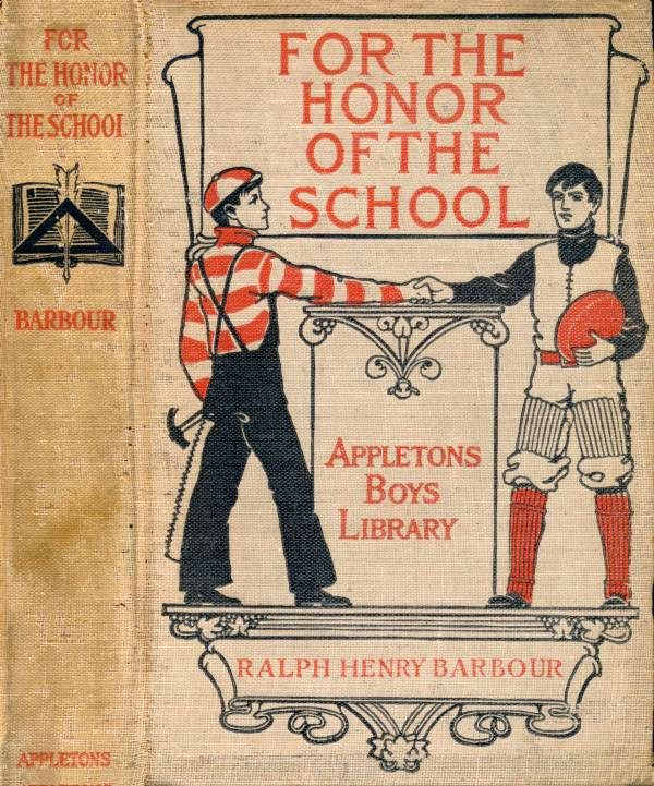 For the honor of the school by ralph henry barboura project cover fandeluxe Images