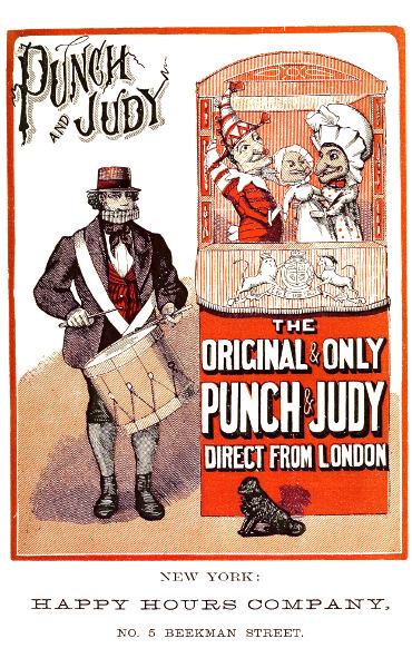 the project gutenberg ebook of punch and judy by w j judd