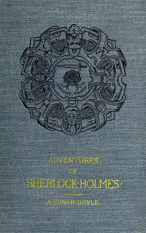 The project gutenberg ebook of adventures of sherlock holmes by a cover fandeluxe Gallery