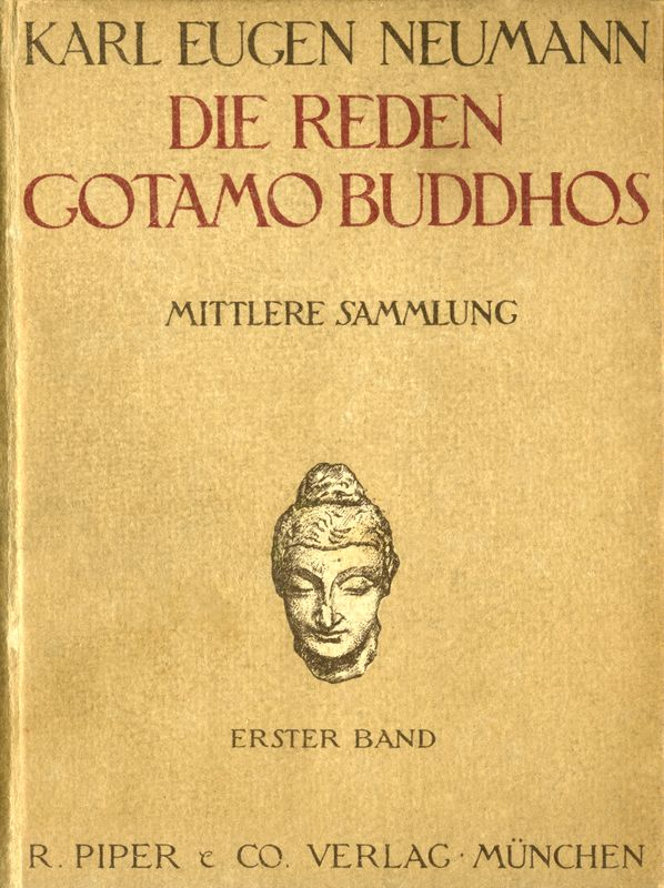 The Project Gutenberg Ebook Of Die Reden Gotamo Buddhos By