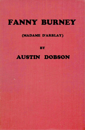 The distributed proofreaders canada ebook of fanny burney by austin of this project gutenberg ebook fanny burney produced by marcia brooks al haines cindy beyer ross cooling and the online distributed proofreaders fandeluxe Images