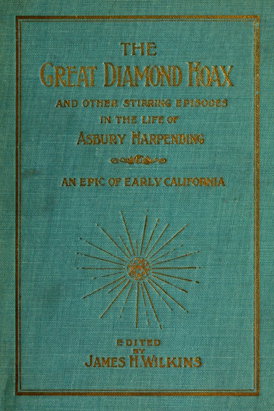 The project gutenberg ebook of the great diamond hoax by asbury cover fandeluxe Images
