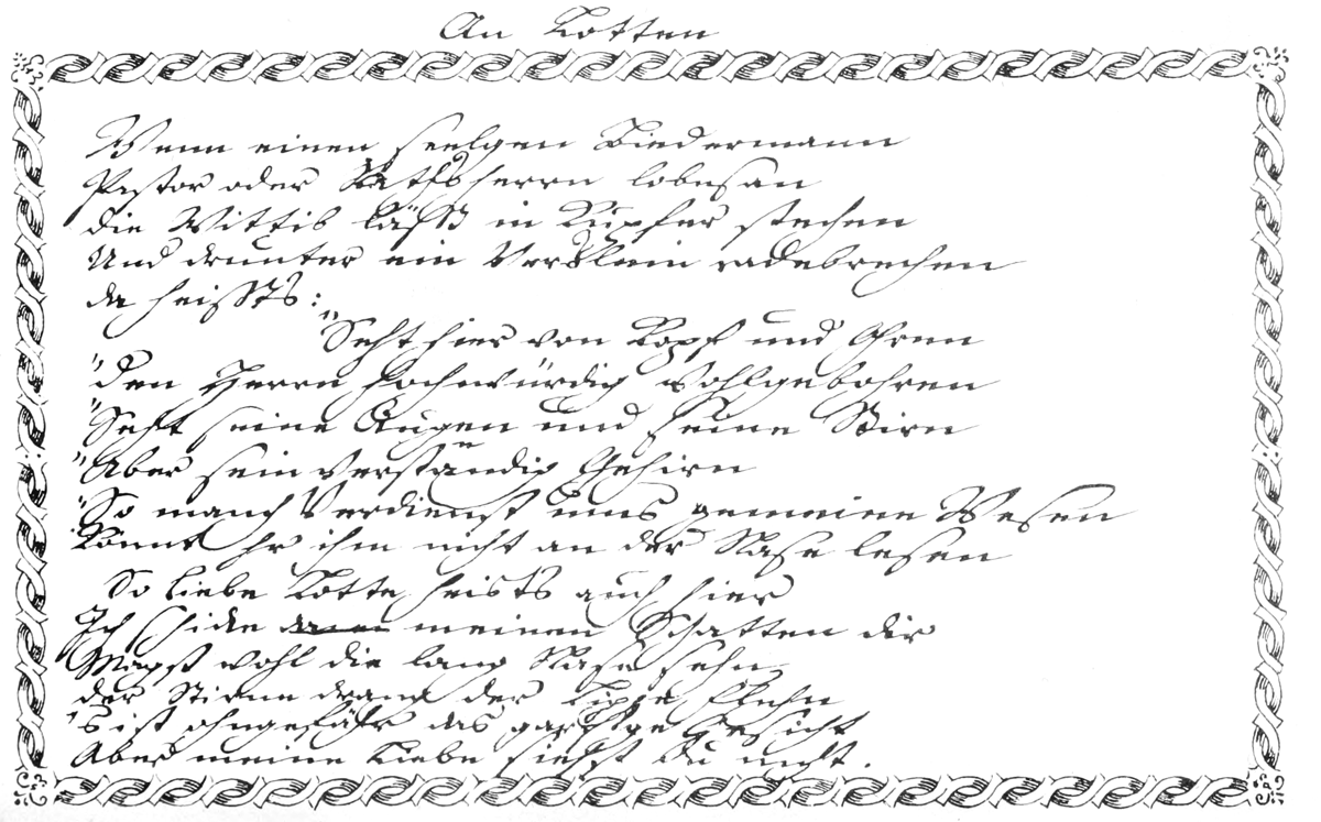The Project Gutenberg Ebook Of Goethe Und Werther By August