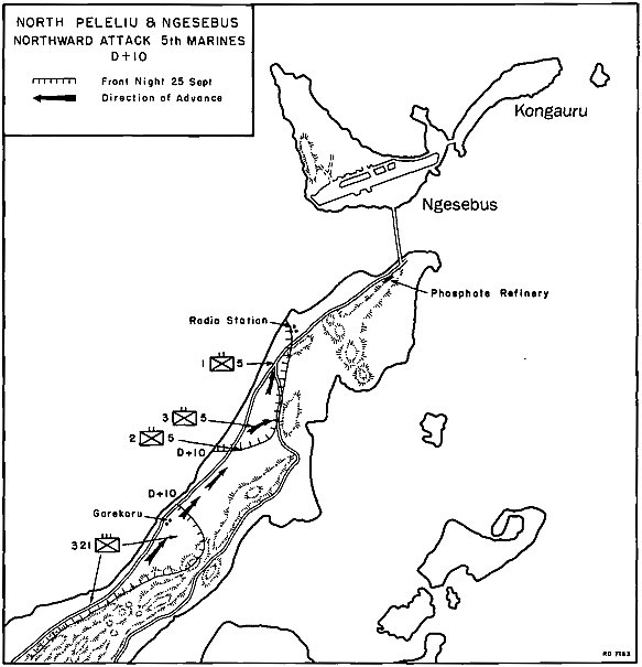 northward attack 5th marines d 10