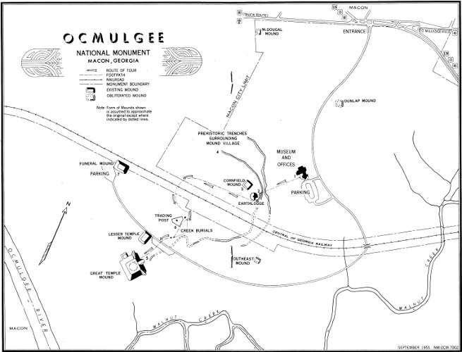 Ocmulgee National Monument Georgia By G D Pope Jr