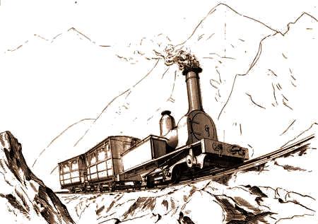 EFFINGHAM PANAMA LIMITED Illinois Central Railroad Train Poster Art Print 115