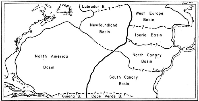 The floors of the oceans 1 the north atlantic by bruce c heezen figure 4major basins of the north atlantic after wst 1940 publicscrutiny Images