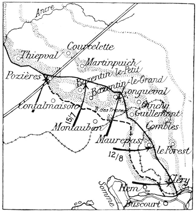 michelin guide the somme volume 1 the first battle of the somme 2 Page Resume Sample in the centre bazentin le grand with its wood and bazentin le petit were taken to the left the southern outskirts of pozi res were reached