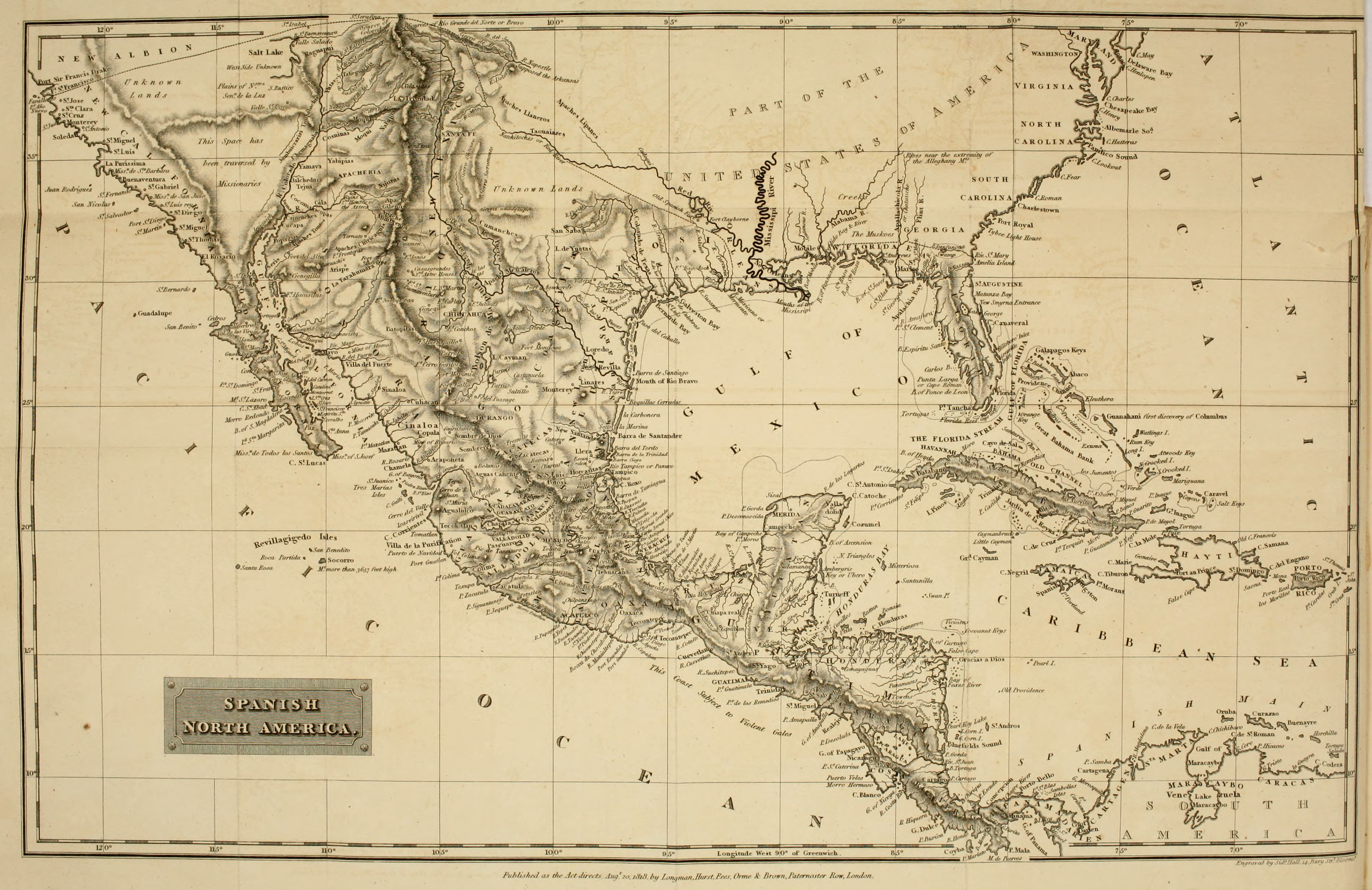 The project gutenberg ebook of spanish america by r h bonnycastle spanish north america fandeluxe Choice Image