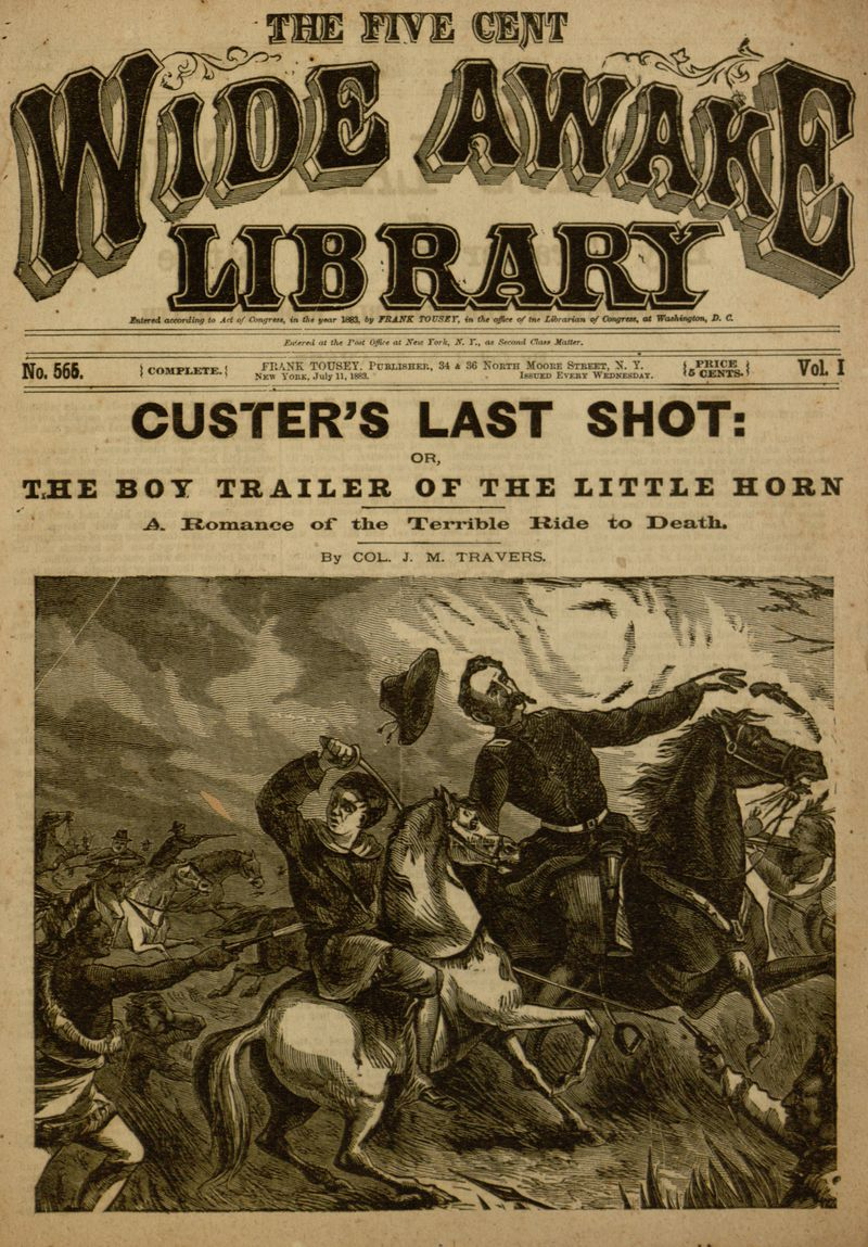 The project gutenberg ebook of custers last shot or the boy cover fandeluxe Images
