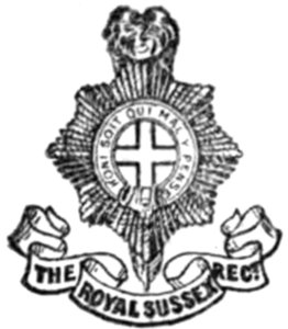 regimental nicknames and traditions of the british army by unknown 109 Infantry Regiment the royal sussex regiment