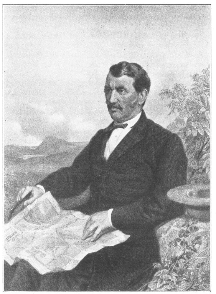 David Livingstone The Brave Scotch Missionary From A Photograph Taken In 1867