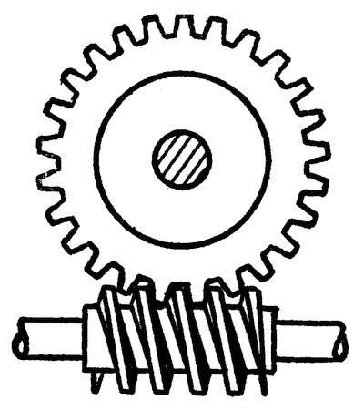 the project gutenberg ebook of mechanics by a russell bond Flag Pole Replacement Parts fig 19 endless screw or worm gear