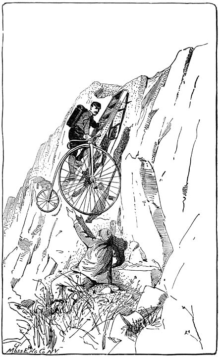 DESCENT INTO THE CAVE OF THE WINDS.—(Page 92.)