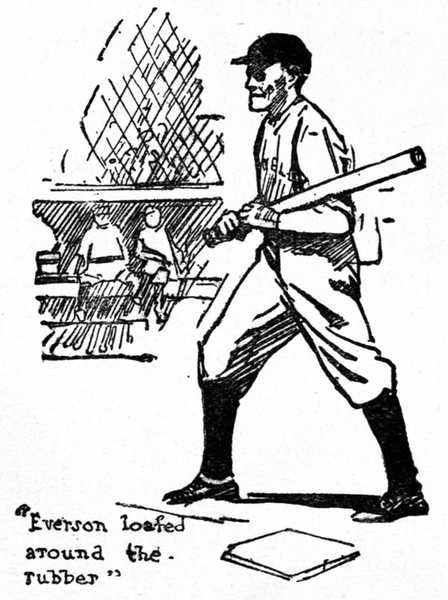 won in the ninth by christopher mathewson a project gutenberg ebook Cute Tommy Gun everson loafed around the rubber