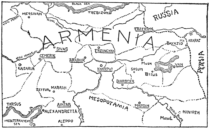 bleeding armenia its history and horrors under the curse of islam Map of Armenia and Macedonia