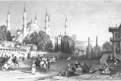THE ATMEIDAN OR HIPPODROME AND MOSQUE OF ACHMET
