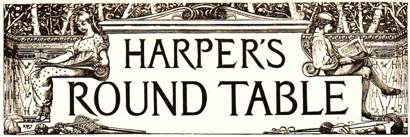 The project gutenberg ebook of harpers round table december 10 harpers round table fandeluxe Images