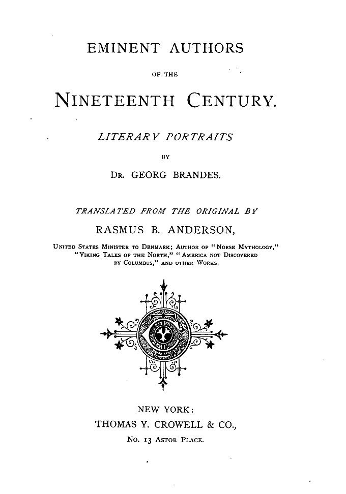 The project gutenberg ebook of eminent authors of the nineteenth start of this project gutenberg ebook eminent authors produced by marc dhooghe at httpfreeliterature images generously made available fandeluxe Images