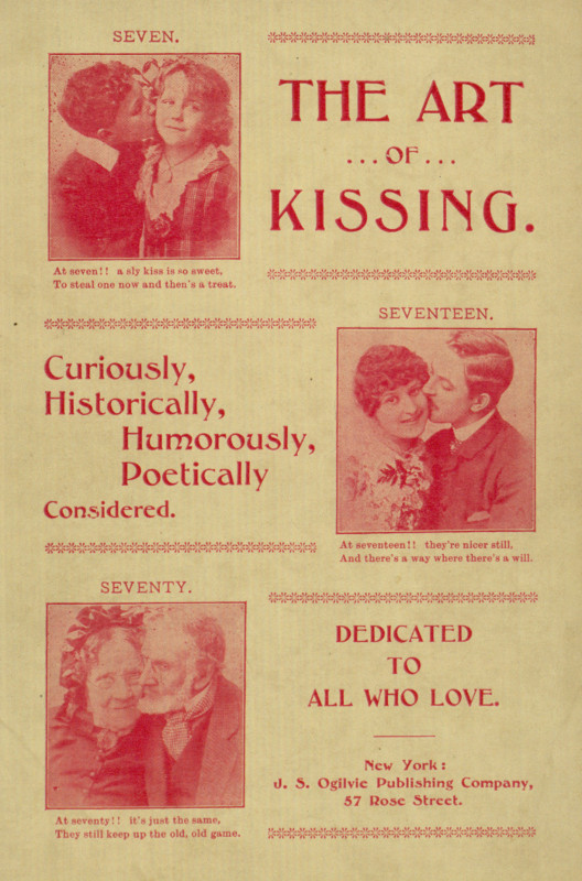 The Project Gutenberg Ebook Of The Art Of Kissing By Will Rossiter