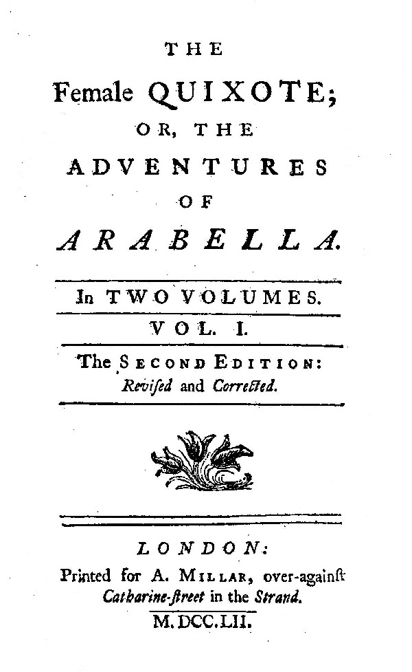 The project gutenberg ebook of the female quixote by charlotte lennox this project gutenberg ebook the female quixote v 1 2 produced by clare graham marc dhooghe at httpfreeliterature images generously fandeluxe Image collections
