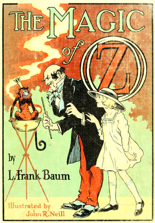 The magic of oz by l frank baum the magic of oz fandeluxe Choice Image