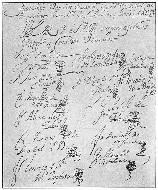 The philippine islands 14931898 explorations by early navigators signature of juan de la concepcin fandeluxe Images