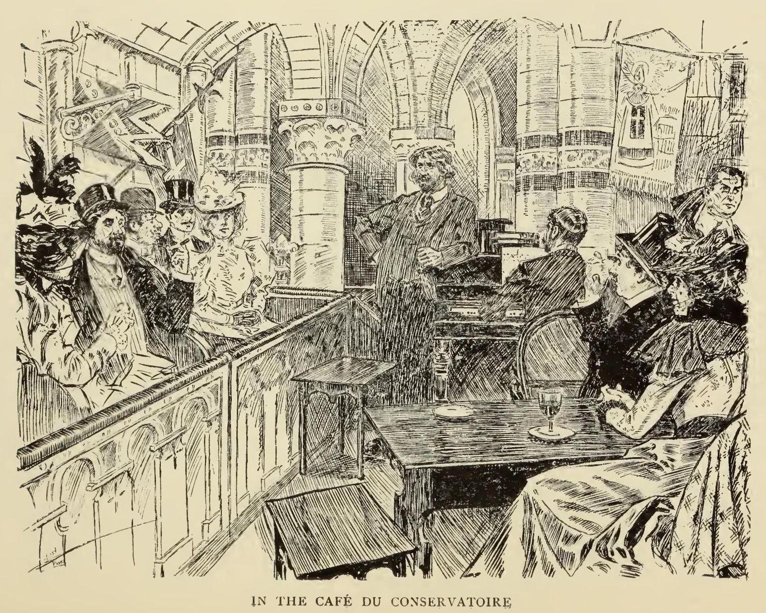 This was the Caf du Conservatoire famous