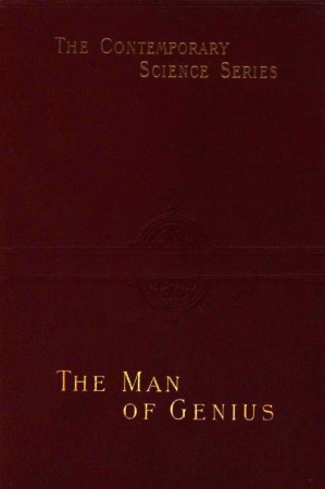 The project gutenberg ebook of the man of genius by cesare lombroso cover fandeluxe Choice Image