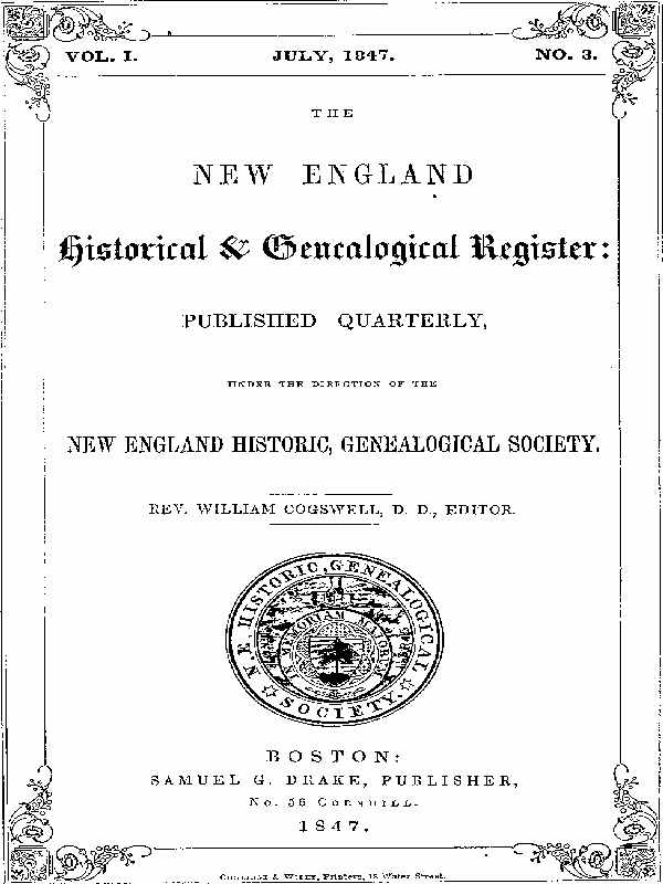 The Project Gutenberg Ebook Of The New England Historical