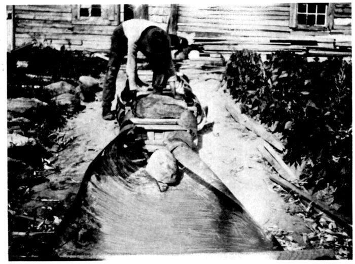 The Project Gutenberg Ebook Of The Bark Canoes And Skin