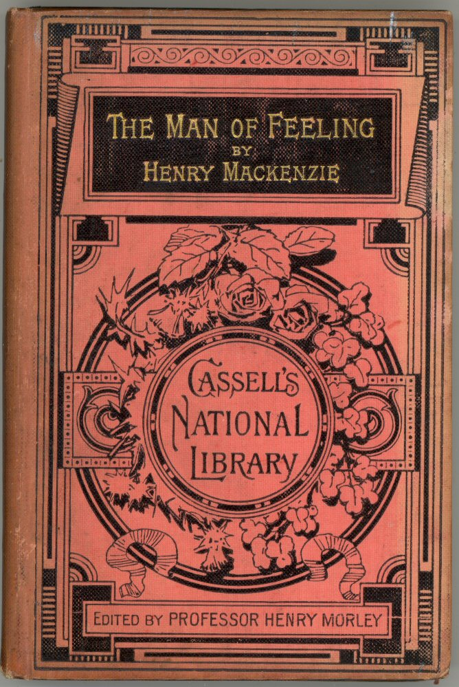 The man of feeling by henry mackenzie book cover fandeluxe Images