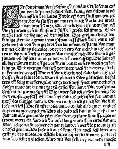 The project gutenberg ebook of narrative and critical history of german translation of the first letter of columbus text fandeluxe Images