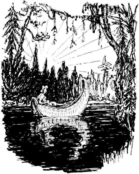 Auf Seinem Hermelinbelegten Boden Ruht Ein Einziges Leichtes Ruder Aus  Atlasholz; Doch Kein Ruderer Oder Begleiter Ist Zu Sehen. Der Gast Wird  Gebeten, ...
