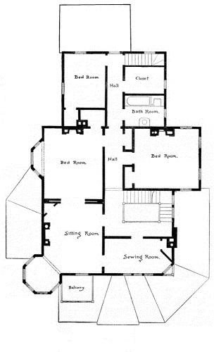 The project gutenberg ebook of scientific american architects and second story plan fandeluxe Gallery