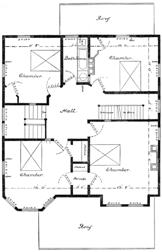 The project gutenberg ebook of scientific american architects and 2nd story plan fandeluxe Gallery