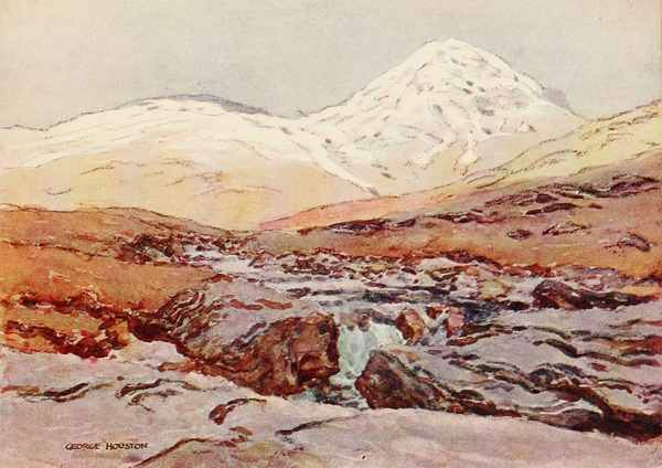 From The Water Colour Drawing By George Houston ARSA