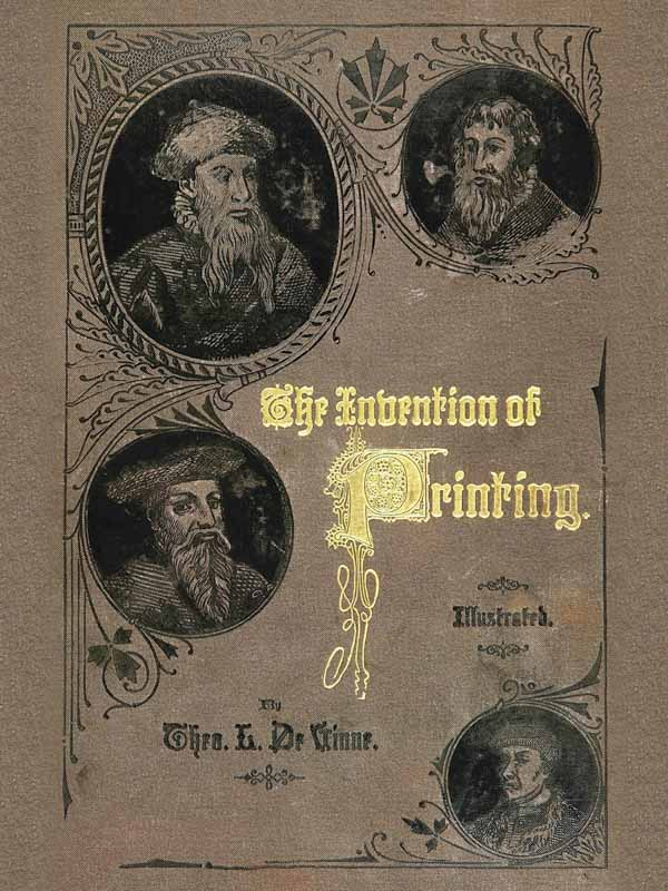 The project gutenberg ebook of the invention of printing by cover page fandeluxe Images