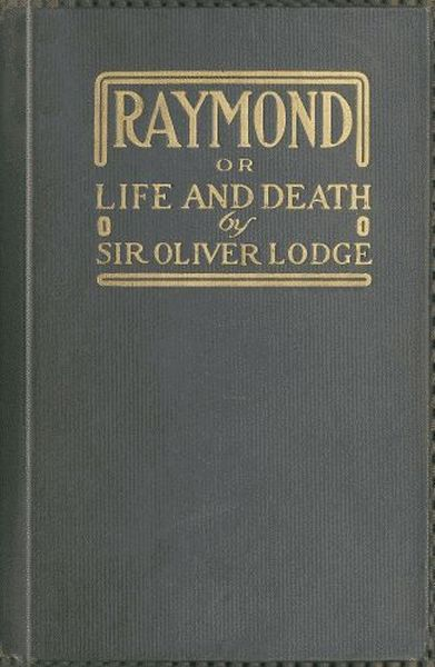 The project gutenberg ebook of raymond or life and death by sir cover fandeluxe Image collections
