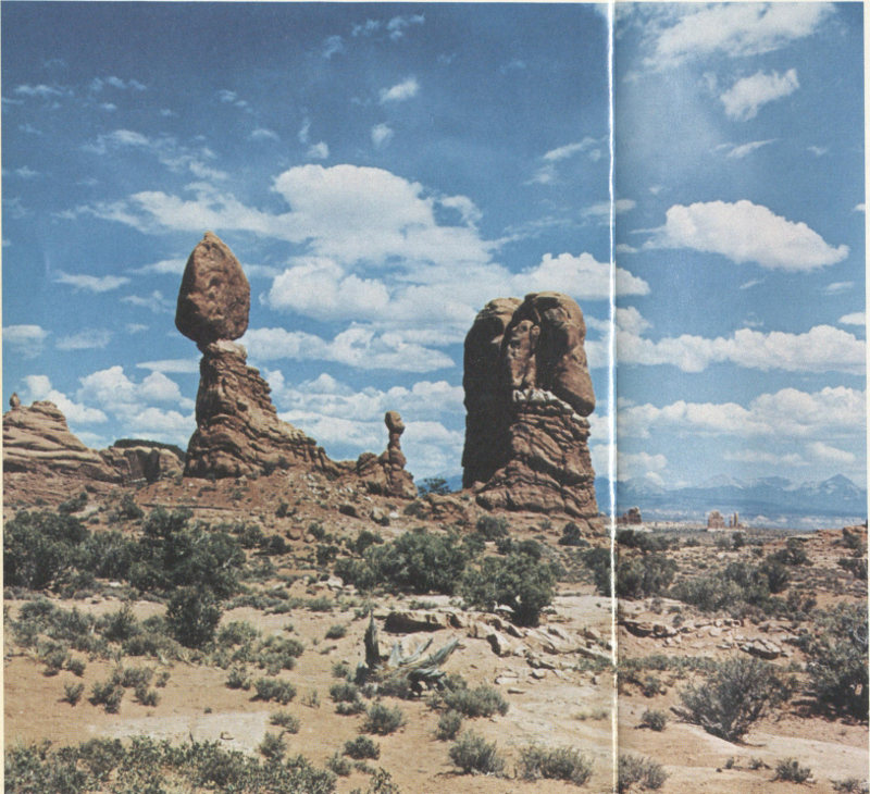 The Geologic Story Of Arches National Park By S W Lohman