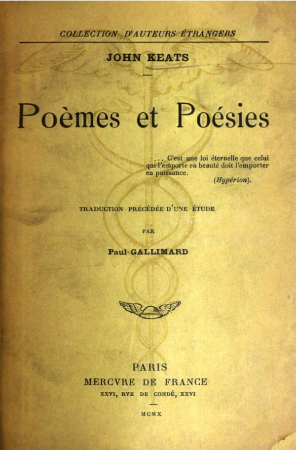 be7f6d794327 ... set encoding  UTF-8     START OF THIS PROJECT GUTENBERG EBOOK POÈMES ET  POÉSIES     Produced by Madeleine Fournier. Images from The Internet Archive .