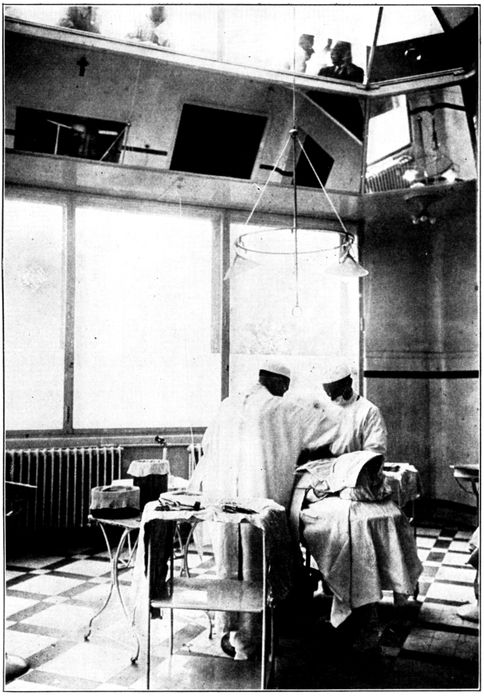 The project gutenberg ebook of how to use the popular science modern operating room in a paris hospital it is fitted with a glass dome and radio microphones for the use of students and doctors who wish to watch the fandeluxe Image collections