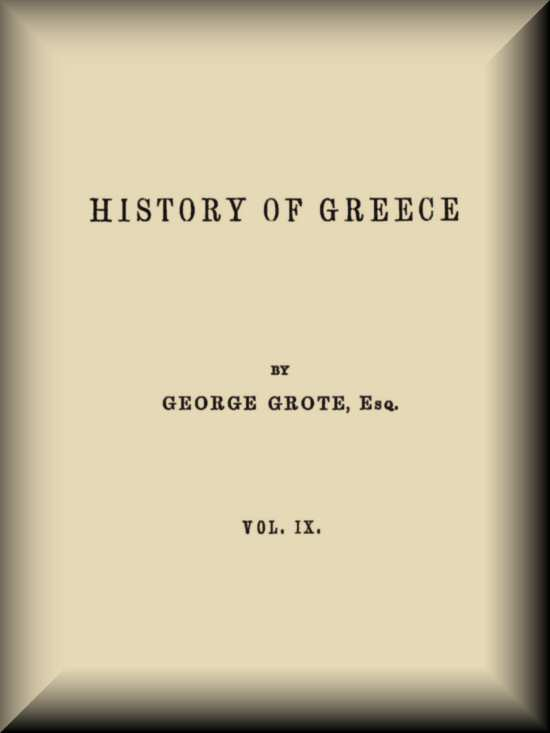 History Of Greece Vol 912 By George Grote A Project Gutenberg