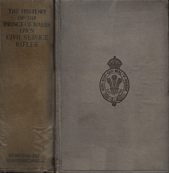 The history of the prince of wales own civil service rifles by ebook prince of wales civ service rifles produced by brian coe wayne hammond and the online distributed proofreading team at httppgdp fandeluxe Choice Image