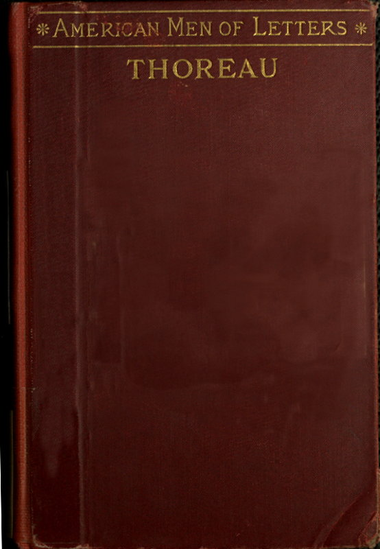 The Project Gutenberg Ebook Of Henry D Thoreau By F B Sanborn
