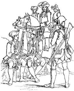 BRITISH SOLDIERS 1701 1714