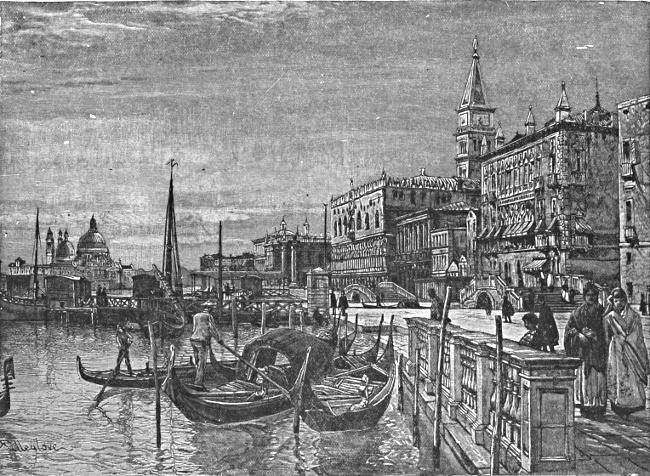 Venedigs vatten steg efter ovader 2