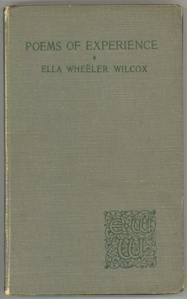 Poems Of Experience By Ella Wheeler Wilcox